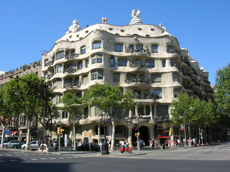 Thursdays Child: La Pedrera, Barcelona  Of Muses and Meringues