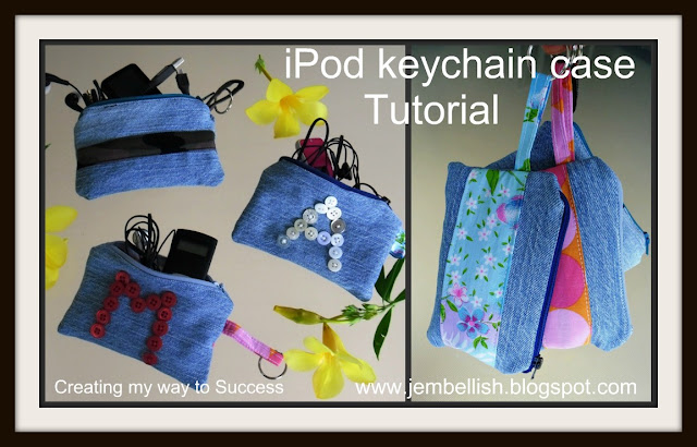 iPod keychain case
