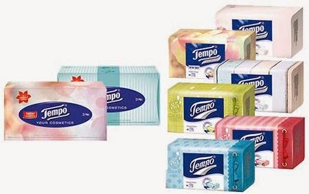 Gratis Tempo tissue box