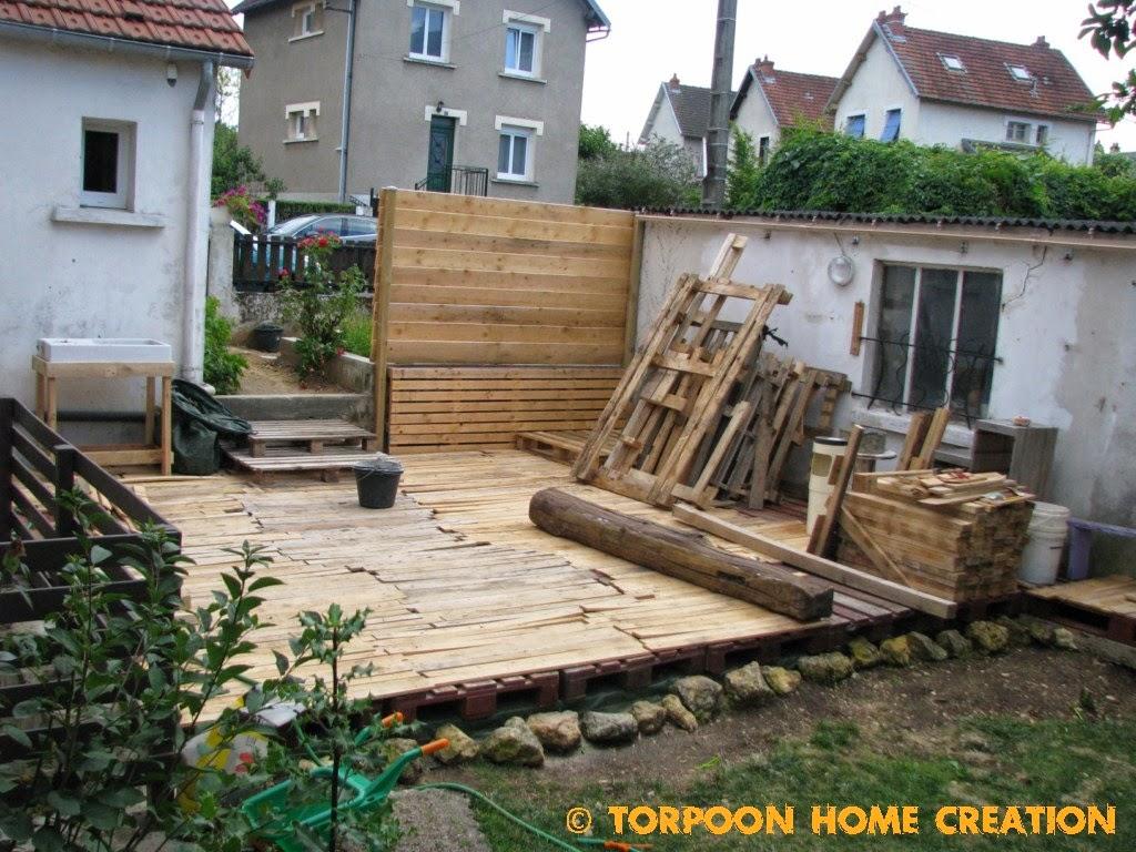 Bekannt Torpoon Home Creation: Terrasse en palettes et salon d'été NQ67