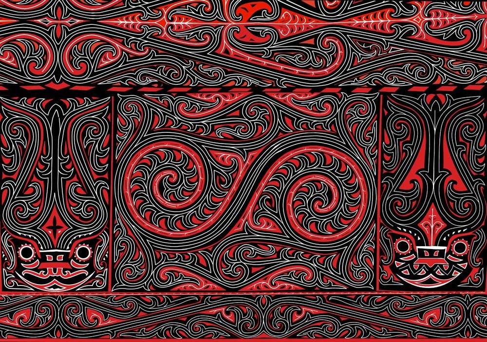 Alfania P. M. Nazara: kumpulan gambar ornamen batak
