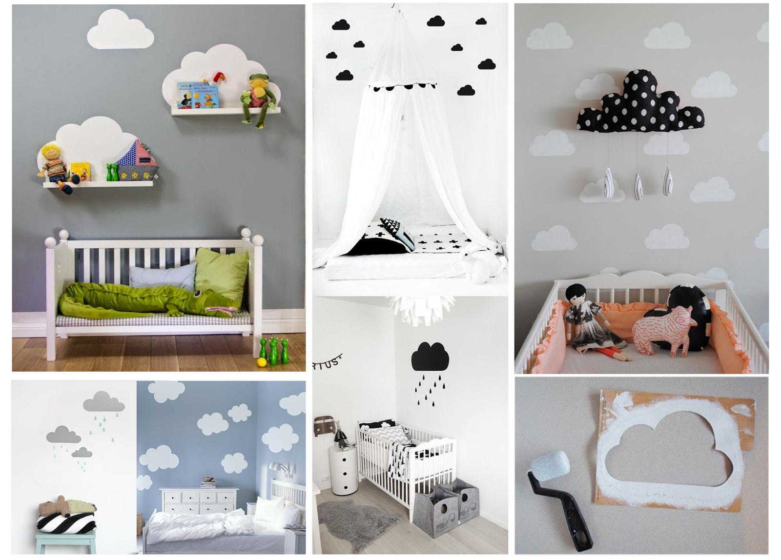Idee camerette bambini fai da te oh22 pineglen - Idee camerette neonato ...