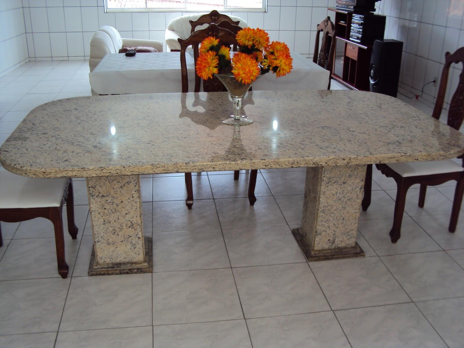 Cozinha Com Mesa De Marmore Cozinha Clean E Rstica Com Mesa De  -> Sala De Jantar Pequena Com Mesa De Marmore
