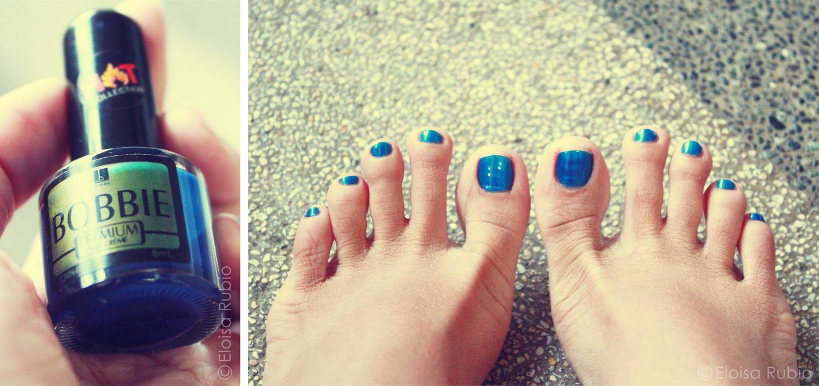 mix of randomness: Bobbie Nail Polish Hot Collection in patent blue