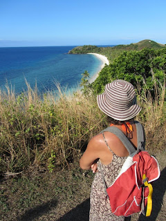 Ausblick auf die Nordküste von Malolo