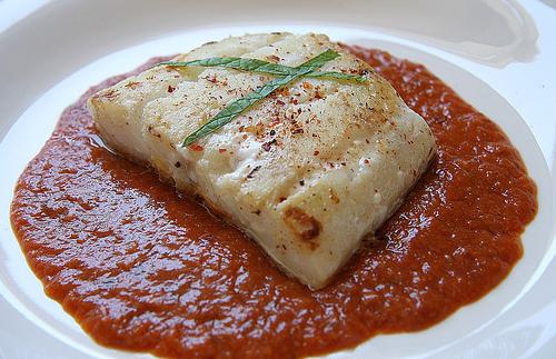 Bacalao a la vizcaina cocinar en casa es - Cocinar bacalao desalado ...