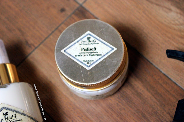 Just Herbs Pedisoft Crack Cure Foot Cream