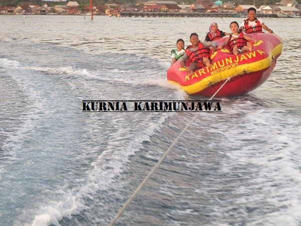water sport rolling donat karimunjawa