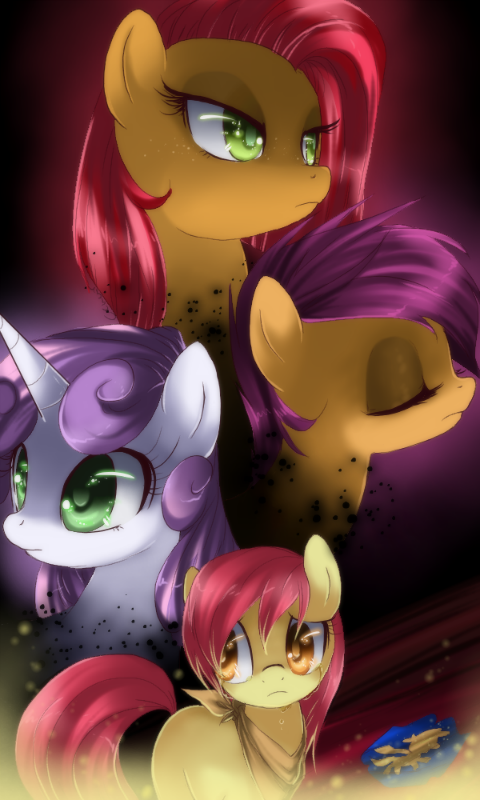 If you have a problem, if no one else can help, and if you can find them, maybe you can hire Cutie Mark Crusaders