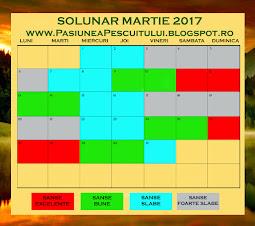 Solunar Martie 2017 - click detalii