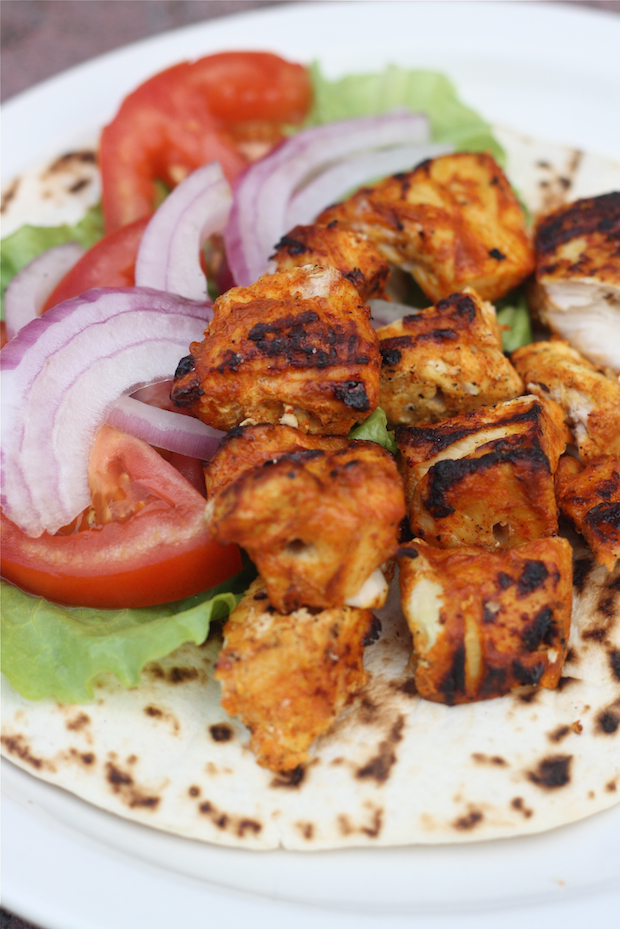 Tandoori Chicken Tikka Wrap | Season with Spice