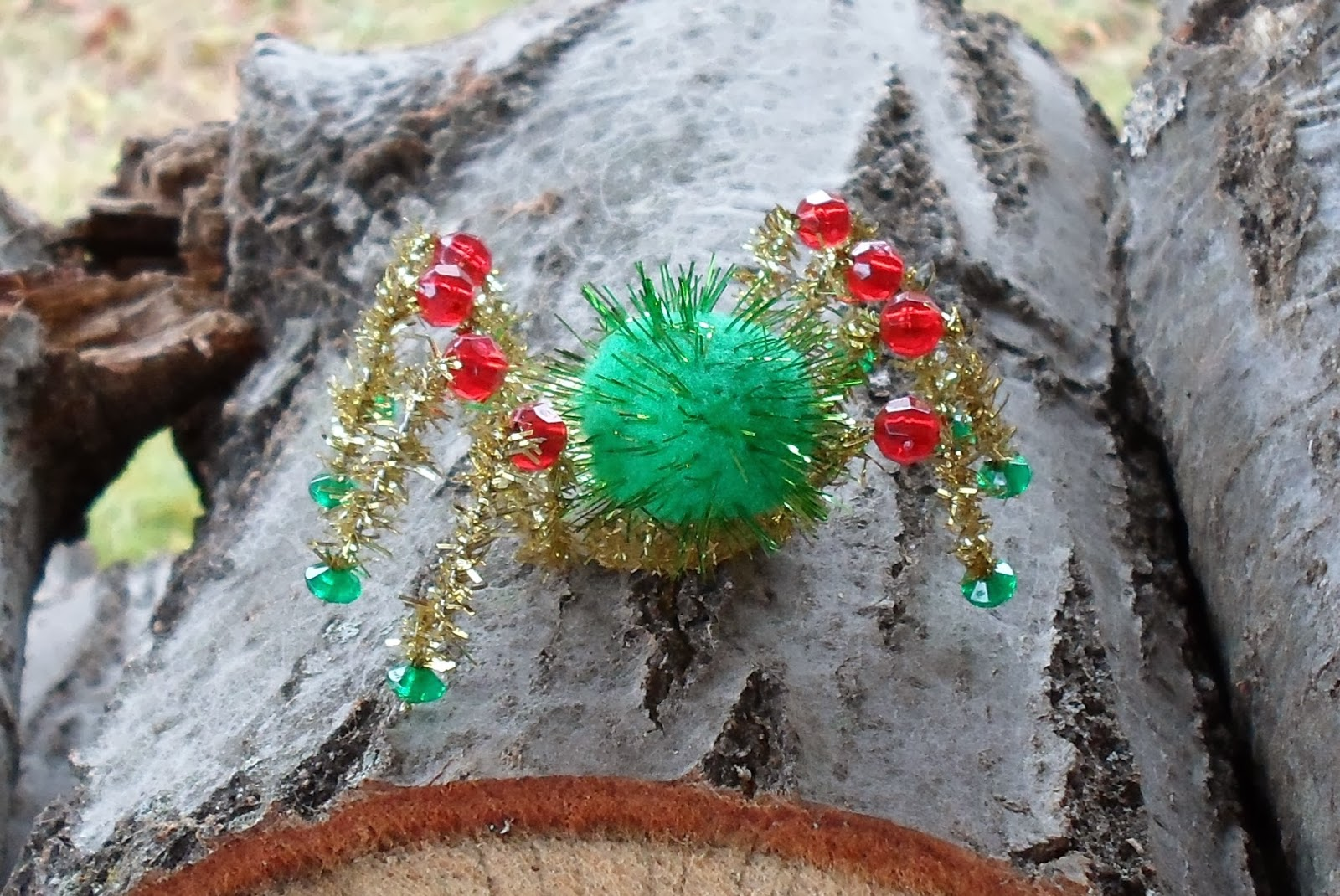 bottle cap christmas spider ornament and the legend of the christmas spider - The Christmas Spider