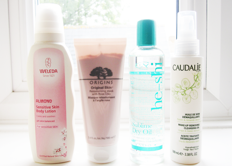 New In from Weleda, Origins, He-Shi & Caudalie