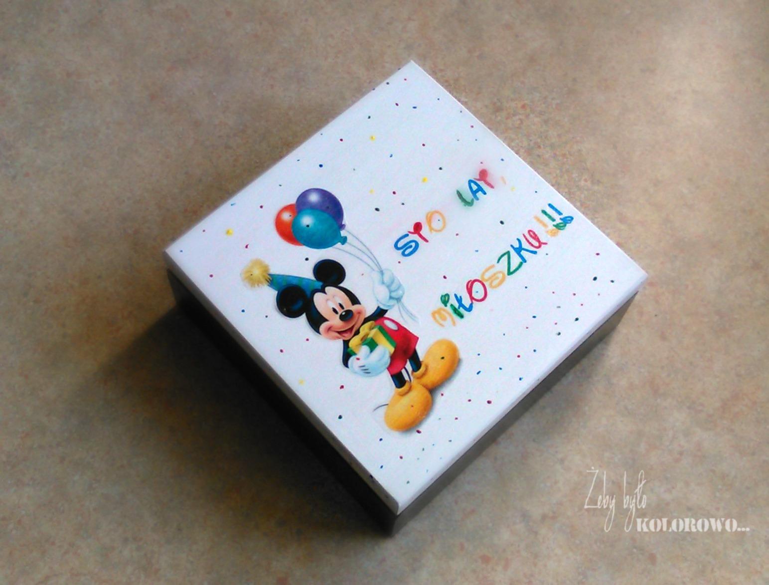 Myszka Miki na urodziny