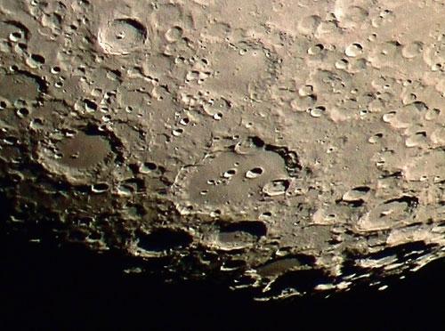 Blick auf die mondoberfläche bild sebastian voltmer astrophoto de