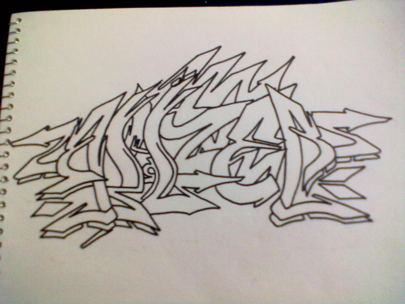 Como Hacer Sombra 3d Para Un Graffiti Wildstyle Blazeroner