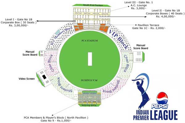 Kings XI Punjab IPL 6 Tickets Booking: Punjab Cricket Stadium IPL 2013 Tickets Online