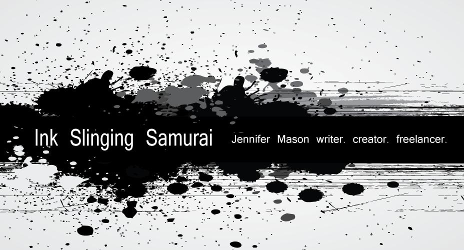 Ink Slingin Samurai