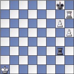 Estudio artístico de ajedrez de Genrikh Kasparian, Shakhmaty v SSSR , 1946