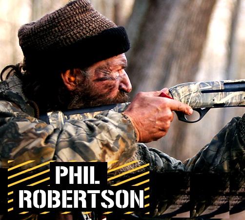 Duck Dynasty Phil Robertson Football