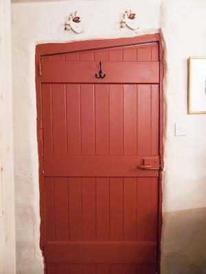 Wonky cottage door