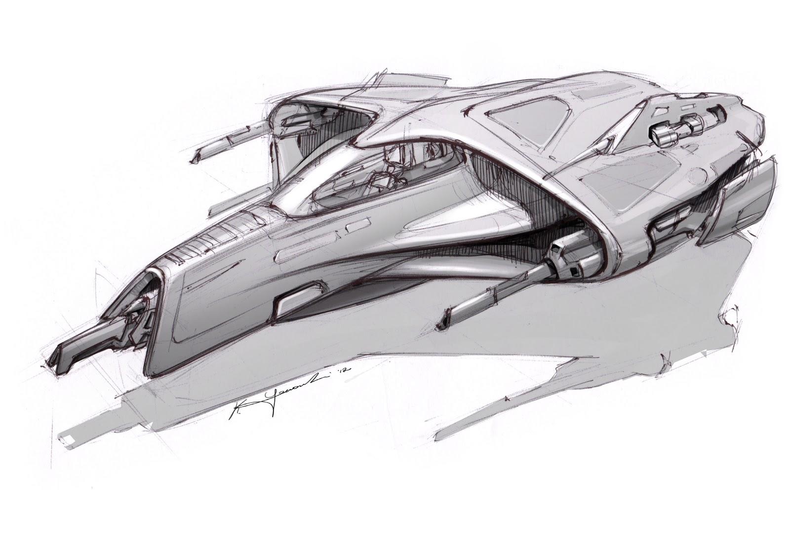 amazoncom blast spaceship sketches and renderings - HD1600×1132