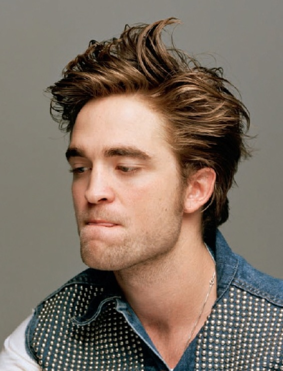 Great Hair Cuts : men hairstyles robert pattinson out of bed hairstyles
