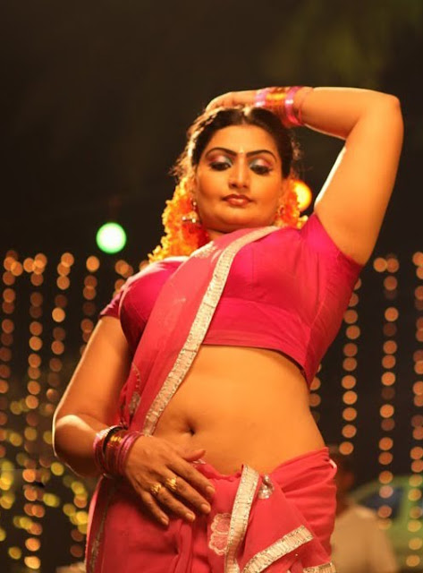 indian aunty hot navel show