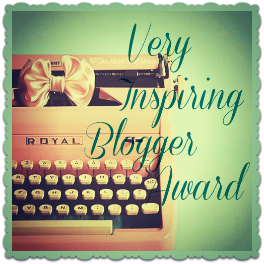 Very Inspiring Blogger Award 2015