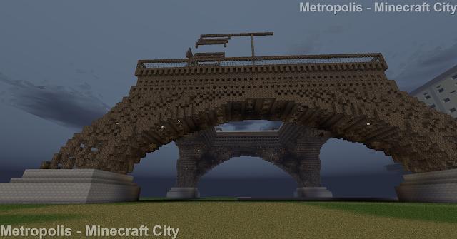 Eiffel Tower  - Minecraft Metropolis