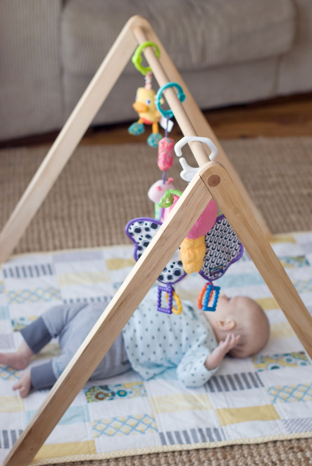 Empty Handed Wooden Baby Gym Tutorial Now Available