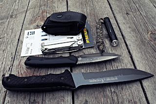 Leatherman Sheath Review Delux Leather Nylon case Schrade SCHF9