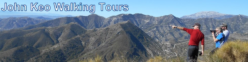 John Keo Walking Tours - HikingWalkingSpain.com