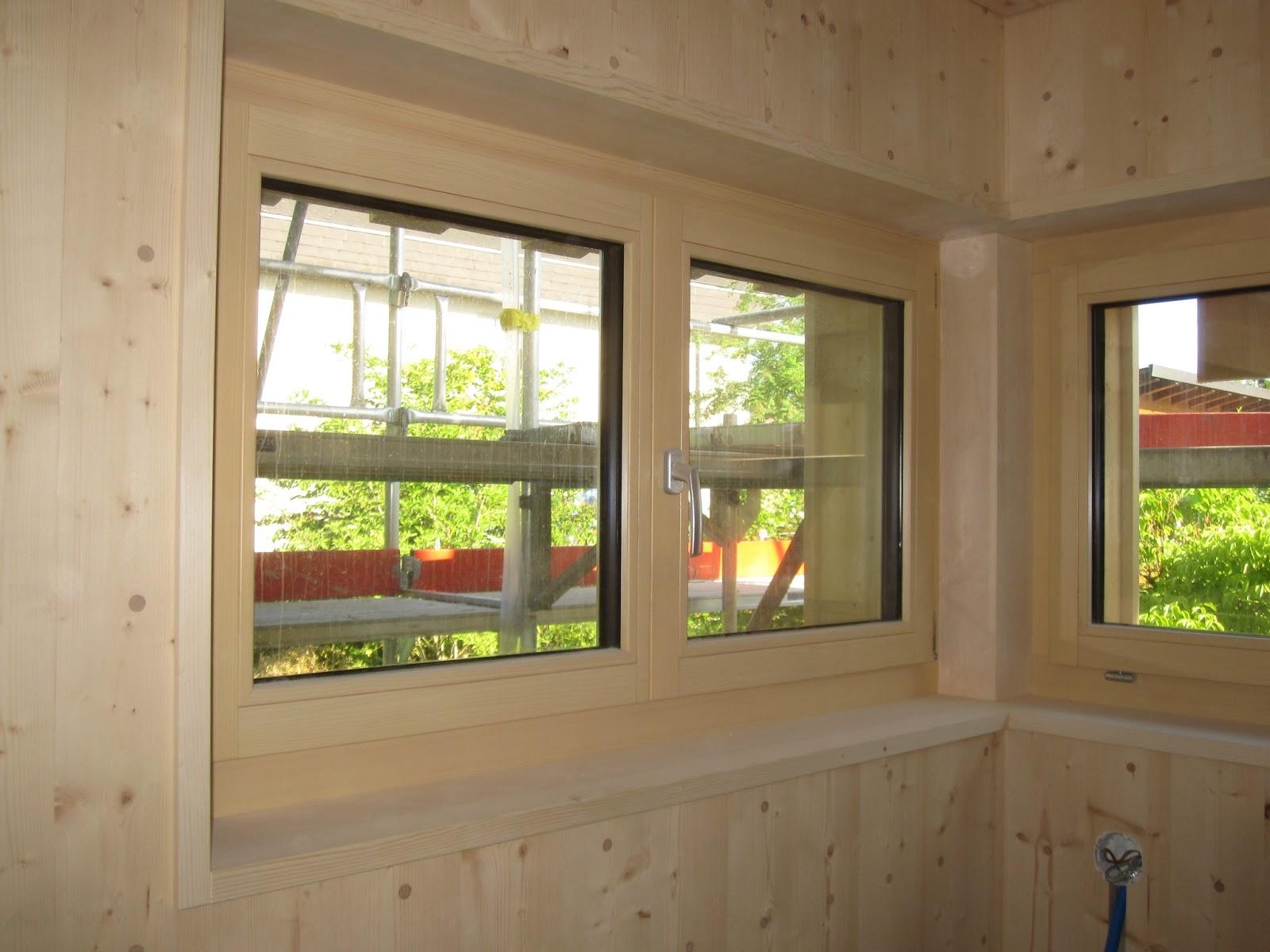holzhaus wir bauen ein haus aus holz k che und t ren. Black Bedroom Furniture Sets. Home Design Ideas
