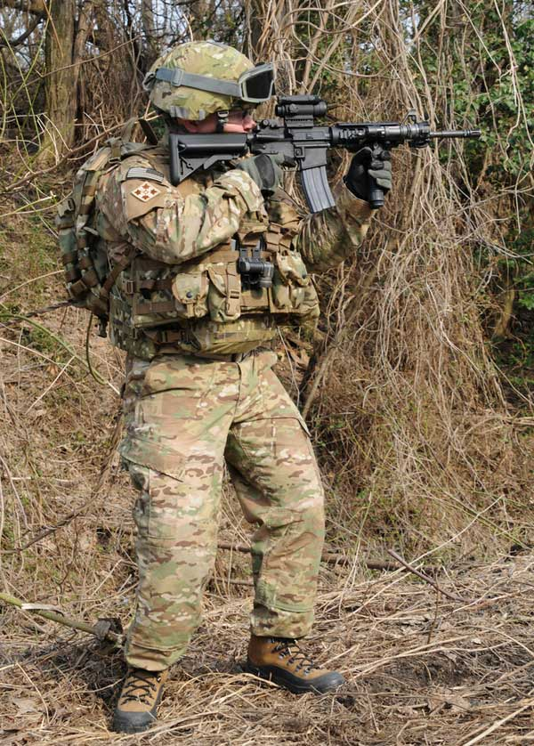 Army Multicam Pattern Us Soldier In