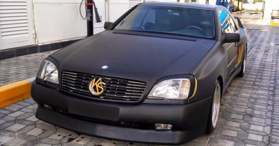 Mercedes cl500 c140 koenig special widebody benztuning for 2012 cl500 mercedes benz