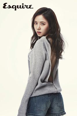 Lee Yeo Reum - Esquire Magazine April Issue 2015