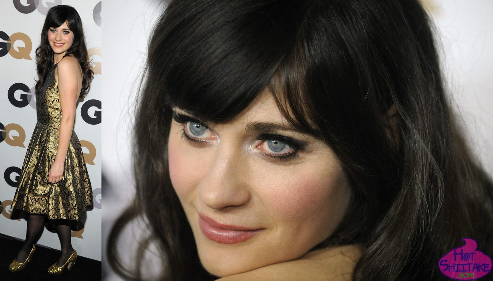 Zooey Deschanel Eyes