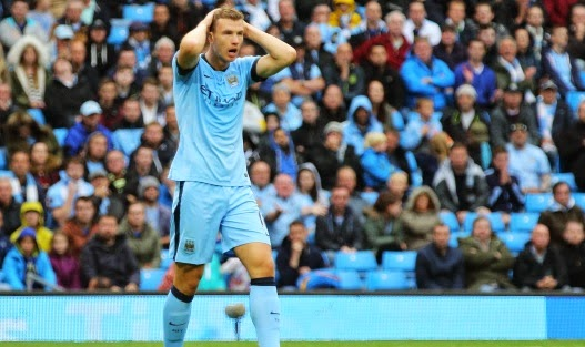 Juventus want Manchester City striker Edin Dzeko