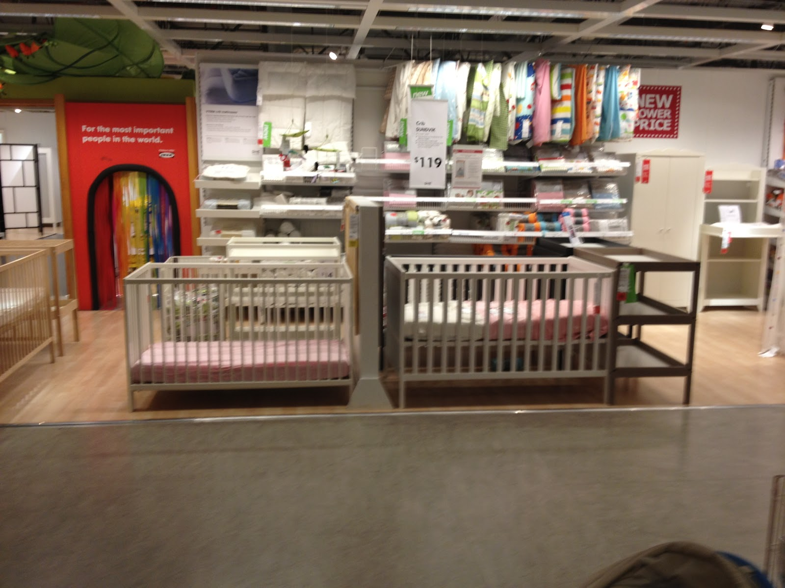Jameson panel crib for sale - On The Left Is The Ikea Gulliver And On The Right Is The Ikea Sundvik