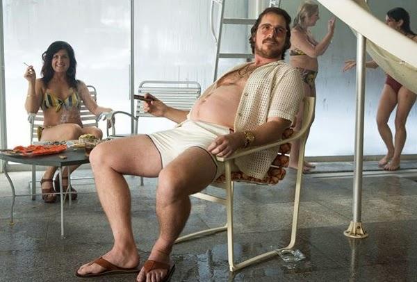 """Christian Bale en """"La Gran Estafa Americana"""""""