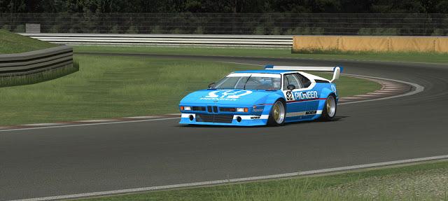 BMW M1 potencia