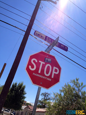 Stop Hammertime - Stop Sign