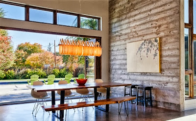 pasangan meja dan kursi untuk ruang makan desain rumah