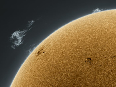 Fotografia del sol.