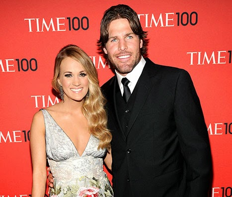 Carrie underwood s husband mike fisher quot i stay out of her way quot when
