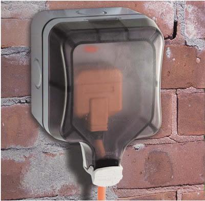BG Nexus Storm Single Outdoor Socket, IP66 rated socket