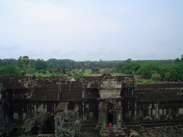Overview Angkor Wat - Cambodia