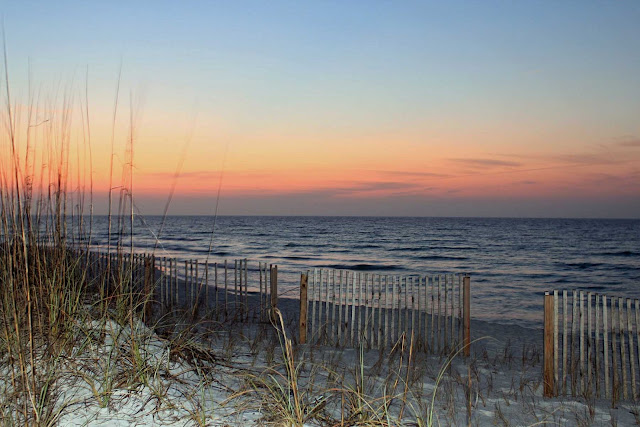 "Photo taken along Pensacola Beach, FL during ""Magic Hour"" before Sunrise~"