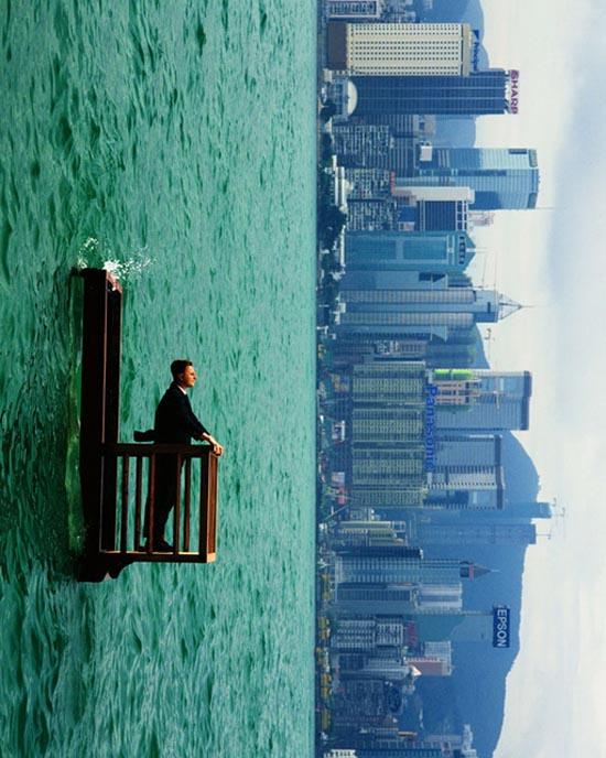 Serie de fotos que desafían la gravedad y la realidad